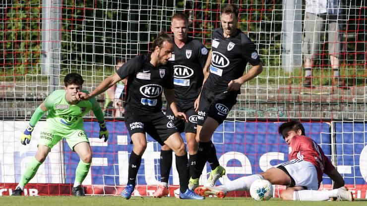 Nach der Niederlage fällt der FC Aarau auf den 8. Platz zurück.