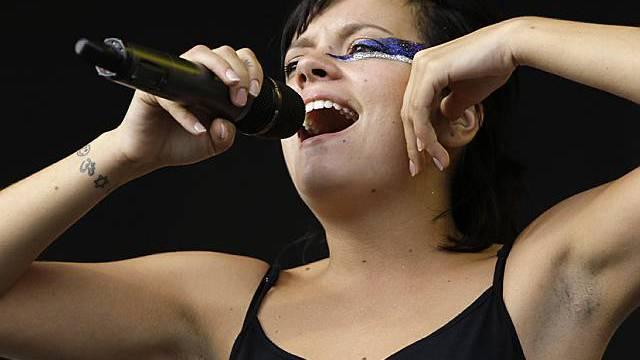 Stets frech und herausfordernd: Sängerin Lily Allen (Archiv)