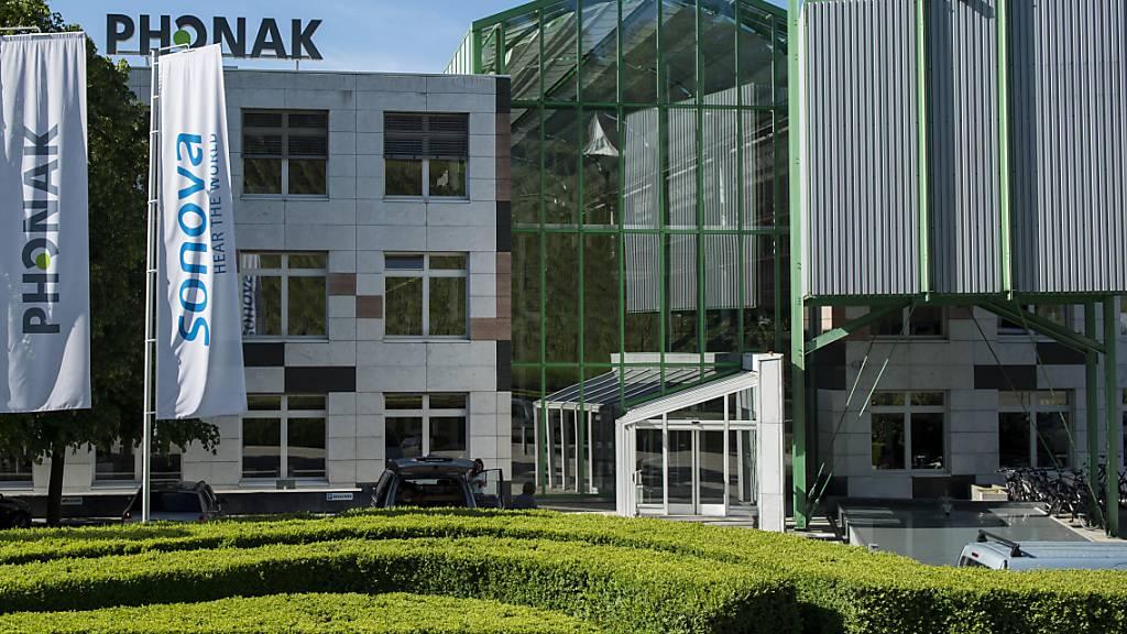 Sonova-Hauptsitz in Stäfa (Archivbild)