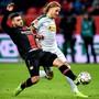 Michael Lang und Borussia Mönchengladbach glückte beim 1:0 in Leverkusen der Auftakt in die Rückrunde der Bundesliga