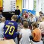Erster Schultag 2019 an der Primarschule in Beinwil
