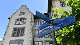 Die Oberstufenschüler aus Starrkirch-Wil gehen im Schulhaus Frohheim in Olten zur Schule.
