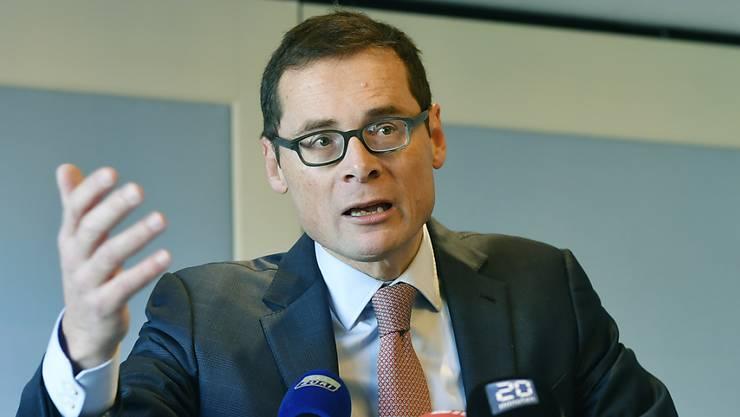 Will einen der beiden Zürcher Ständeratssitze: SVP-Nationalrat Roger Köppel.