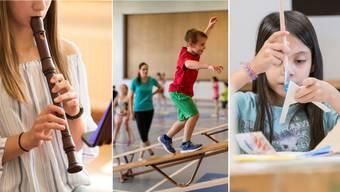 Zählen auf der Primarstufe ein Drittel der Fächer Deutsch und Mathematik: Musik, Sport und Gestaltung.