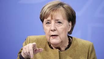 «Wir müssen etwas tun» - Kanzlerin Angela Merkel will schon nächste Woche über schärfere Coronamassnahmen beraten.