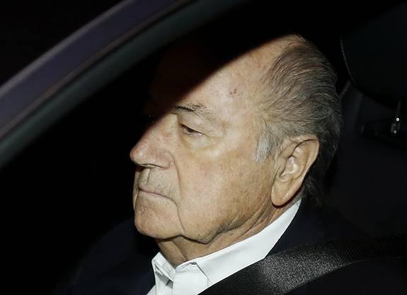 September 2015: Sepp Blatter ist von den Untersuchungen und Korruptionsvorwürfen deutlich gezeichnet.