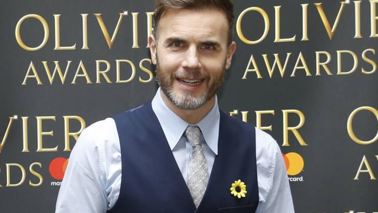 """Take That-Sänger Gary Barlow durfte dank seiner guten Verbindungen zur Filmbranche in """"Star Wars 8"""" mitspielen. Kinostart ist im Dezember. (Archivbild 10.3.2017)"""
