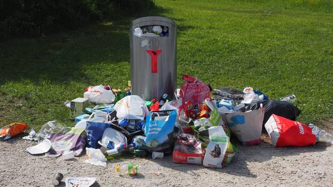 Die Schweiz räumt auf am Clean-Up-Day 2018