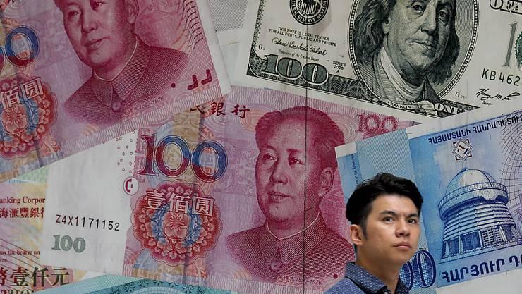Die USA gehen im Handelsstreit auf China zu und stufen das Reich der Mitte nun nicht mehr als Manipulator für seine Währung ein. (Symbolbild)