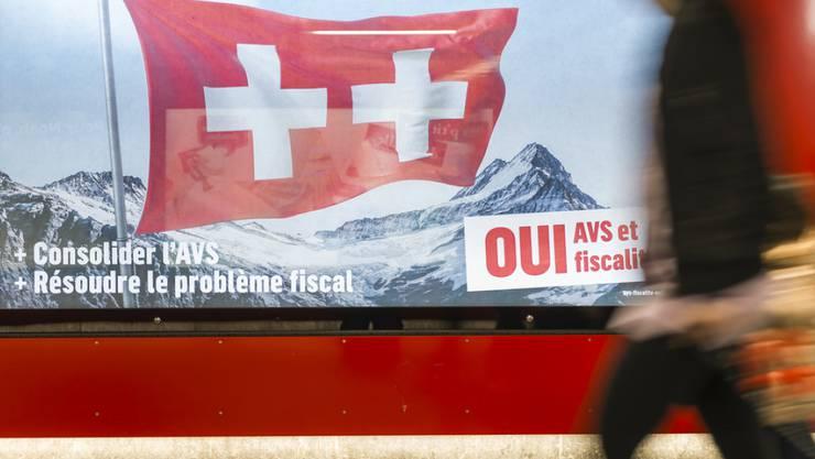 Abstimmungsbeschwerde gegen den AHV-Steuerdeal: Die Waadtländer Linksaussenpartei POP sieht den Grundsatz der Einheit der Materie verletzt.
