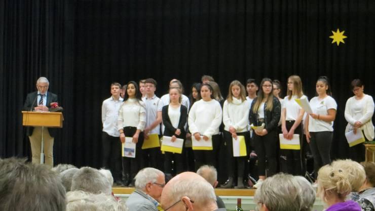 Chor der Sekundarschule Frenkendorf