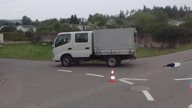 Tödlicher Unfall in Hausen: Lieferwagenfahrer verurteilt