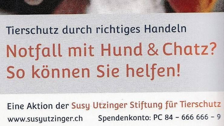 Rechtens oder nicht: Dieser Flyer lag der Rechnung bei (Teilansicht, das ganze Bild finden Sie weiter unten im Text).