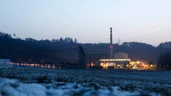Das Atomkraftwerk Mühleberg geht morgen für immer vom Netz (Archivbild Februar 2012).
