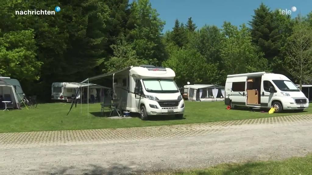 Politik fordert private Stellplätze für Camper
