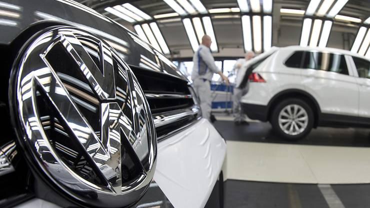 Mit Autos der Kernmarke VW hat der Konzern Volkswagen im vergangenen Jahr weniger eingenommen.