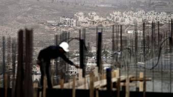 Die Palästinenser fordern einen Siedlungsbau-Stopp (Archiv)