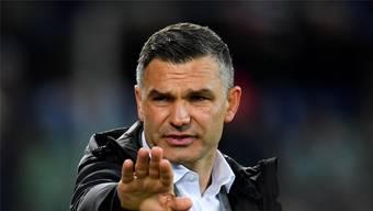 Holt mit seiner Mannschaft immerhin einen glücklichen Punkt: GC-Trainer Tomislav Stipic.