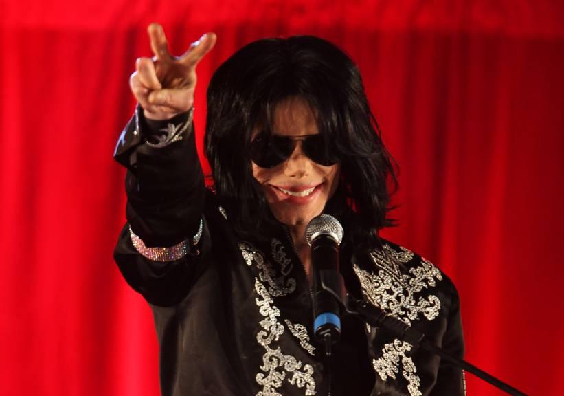 The King of Pop und of Wembley: Michael Jackson gab insgesamt 15 Konzerte im Londoner Stadion . © Getty Images