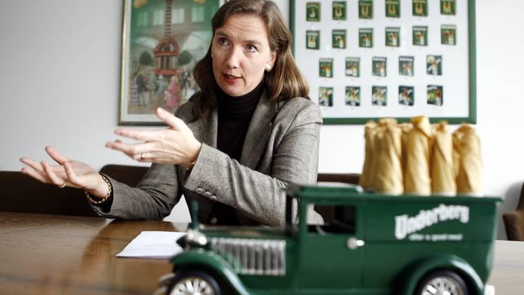 (Hubertine Underberg-Ruder am 12. November 2007 in Dietlikon.)