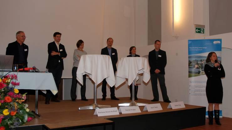 Podiumsdiskussion Mobilitätssalon