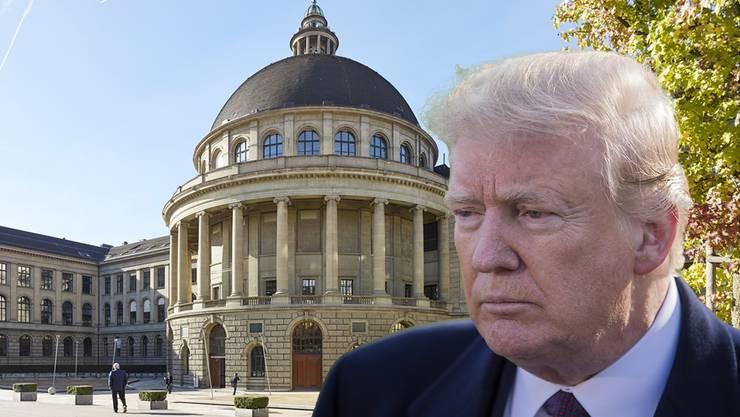 Die Trump-Regierung steckte in den vergangen zwei Jahren 600'000 Dollar in die ETH Zürich.