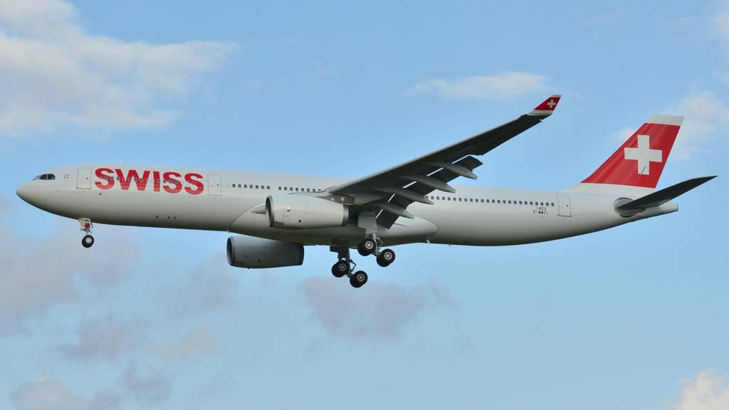 Swiss-Pilot flucht wie ein Rohrspatz