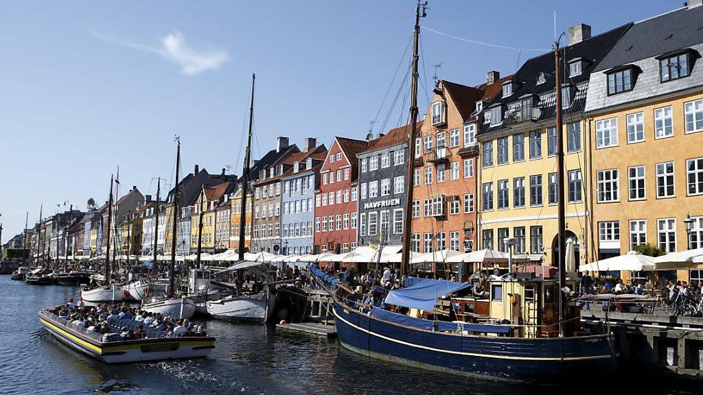 Die Hauptstadt Dänemarks, Kopenhagen, ist von dem bekannten Reisebuch «Lonely Planet» zur interessanten Stadt 2019 erkoren worden. (Archivbild)