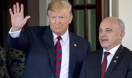 Ueli Maurer besuchte Donald Trump im Weissen Haus – Gespräch dauerte nur 40 Minuten