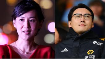 Besitzerin Jenny Wang (links) und Präsident Sky Sun.