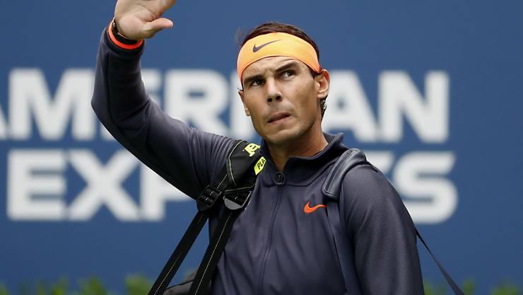 Rafael Nadal muss unverrichteter Dinge wieder aus Frankreich abziehen