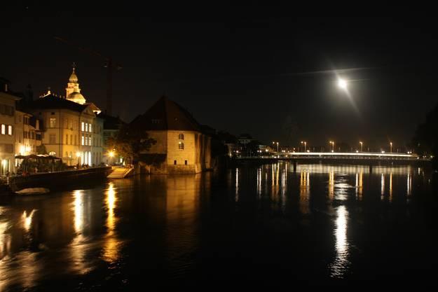 Solothurn im schönsten Licht - Mond inklusive