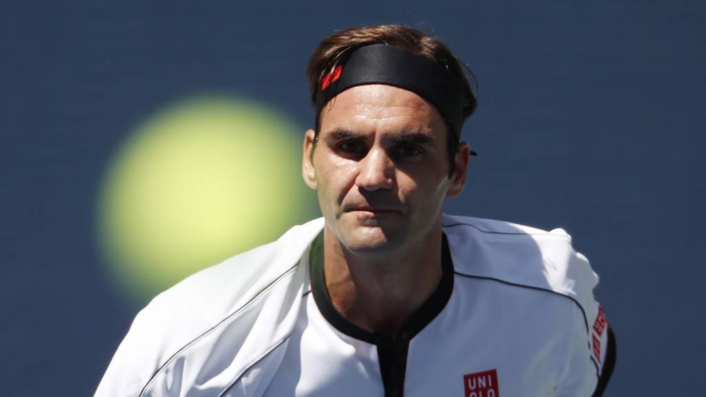 Roger Federer nach klarer Steigerung im Achtelfinal