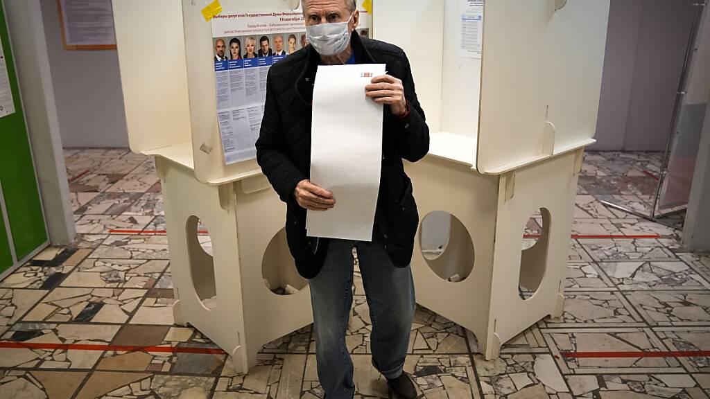 Erste Wahllokale in Russland geschlossen - Hoffnung bei Kremlgegnern
