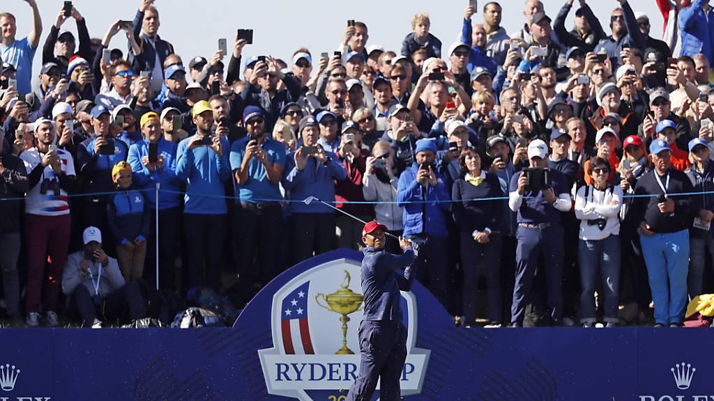 Der 43. Ryder Cup zwischen den besten Golfern der USA und aus Europa findet erst nächstes Jahr statt