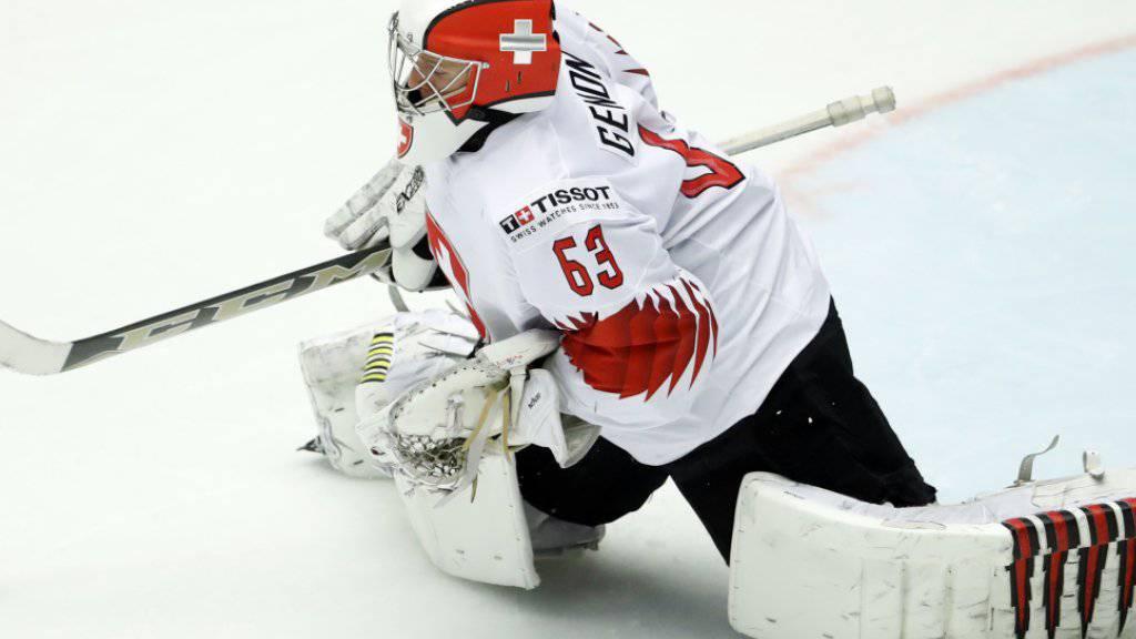 Leonardo Genoni spielt auch gegen Kanada