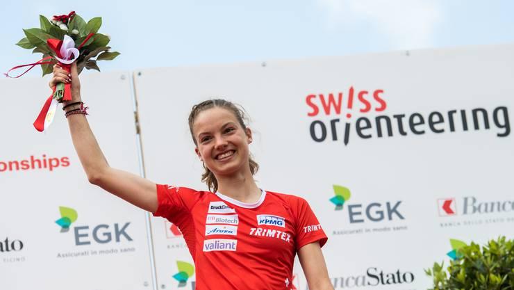 Erreicht einen Erfolg nach dem anderen: Simona Aebersold überzeugt in Norwegen.
