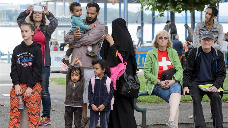 Soll nach Sicherheitsdirektor Mario Fehr (SP) verboten werden: Burkas in der Öffentlichkeit (Symbolbild).