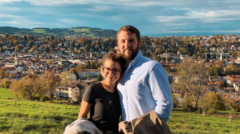April Kry und ihr Mann