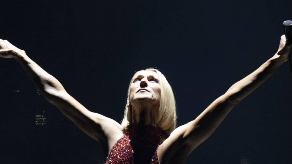 Céline Dion ist bekannt für ihre emotionsgeladenen Shows.