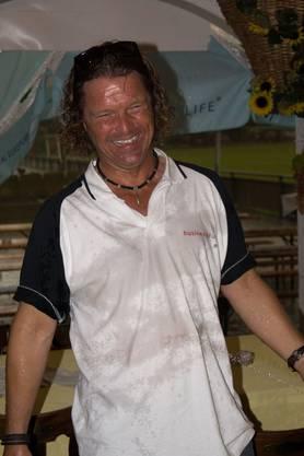 Thomas Landis, Co-Präsident des Gewerbevereins Schlieren, kam ins Schwitzen