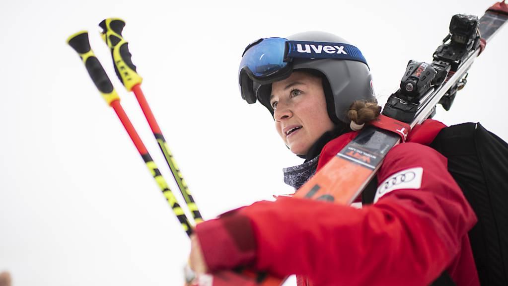 Jasmina Suter war als Siebte im zweiten Training bestklassierte Schweizerin