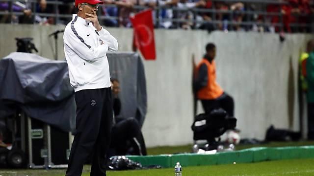 PSG-Coach Laurent Blanc