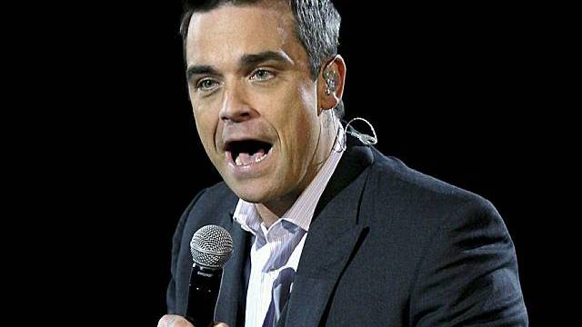 Robbie Williams in Action (Archiv)