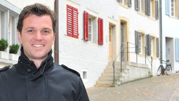 Christian Gressbach in der Altstadt. Bruno Kissling
