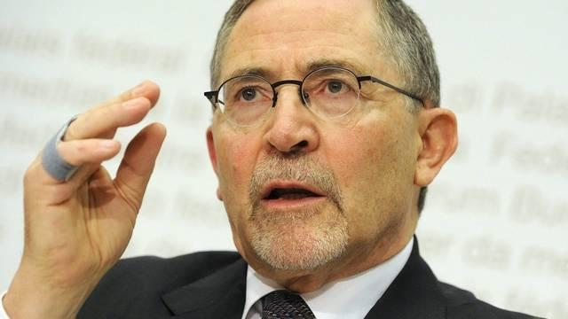 Der Leiter der Arbeitsgruppe, Rechtsprofessor Heinrich Koller