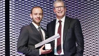 NAB-Award: Nicholas Hänny ist Aargauer des Jahres 2019
