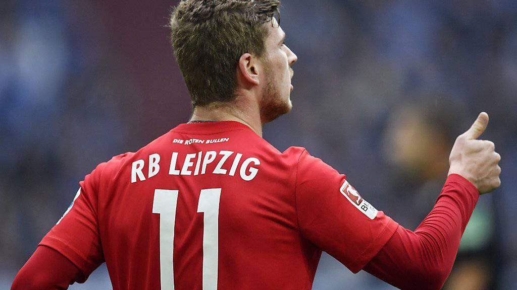 Timo Werner schoss den Leipziger Treffer