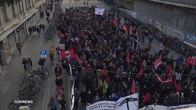 Bund soll auch für Anti-WEF-Demo zahlen