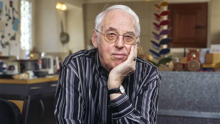 Mit 94 Jahren verstorben: SP-Doyen Helmut Hubacher. (Archivbild)